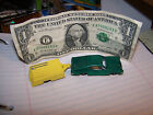 Rare 1970's Midgetoy-Green Torino with Camping Trailer -USA Made Die Cast- Mint