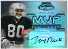 JERRY RICE 2002 PLAYOFF CONTENDERS MVP AUTO 16 25 RAIDERS AUTOGRAPH