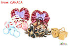 6 Pairs Girl's Hair Accessories Pony Tail Holder & Hair  Bow Pins High Quality 2