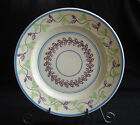 Staffordshire China Stick Spatter Sponge Ware Decorated Plate