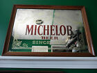 VINTAGE MICHELOB BEER ANHEUSER-BUSCH, INC SINCE 1896 BAR MIRROR