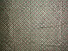Templer Olive and Burgundy - all over ~ Poly/Cotton Fabric  ~ 58