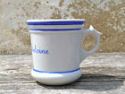 Vintage Antique 1900 French ceramic brulot / bowl / coffee cup