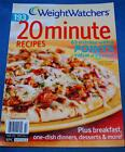 Weight Watchers Magazine Special 193 20 Minute Recipes Fall 2009 ExcCondition