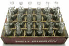 Vtg Red Ribbon Beverage/Chocolate Soda/Pop Wood 24 Pack Crate/Case +ACL Bottles!