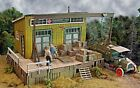 Bar Mills Cranberry Yard Freight Laser-Cut Wood Structure Kit #0482 HO Scale