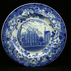 Harvard University Wedgwood Blue 1927- Massachusetts Straus Commemorative Plate
