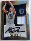 2012-13 Panini Select Klay Thompson Auto Jersey RC Rookie Prizm Refractor 10 199