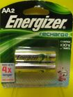 Energizer Recharge AA Rechargeable Batteries Pack of 2    8688