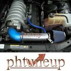 BLUE 2005-2010 CHARGER  CHALLENGER MAGNUM 300 C 5.7L V6 6.1L V8  AIR INTAKE KIT
