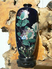 B3184 Exquisite Antique Japanese Cloisonne Silver Wire Vase 6