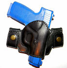 CLEARANCE GAZELLE LEATHER OWB DUAL SNAP ON BELT HOLSTER for KAHR CW 40 CW45