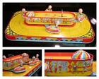 1930's Chein PLAYLAND WHIP CONEY ISLAND Tin Wind Up~RAREST of the Carnival*VIDEO