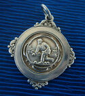 Vintage Sterling Silver Watch Fob Medal - Bowling / Bowls - 1948 not engraved