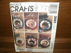 Seasonal Wreaths  One for Every Month McCalls 3881 Uncut Sewing Pattern