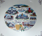 Iowa State Collector Plate Eastern China USA 22K Gold Trim
