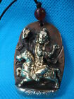 Collected China Old Copper Made Tibet Riding Horse Buddha  Pendant
