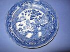 Vintage Painted Willow Pattern Decorative Plate
