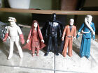 Vintage Star Wars Action Figure Collection- Lot of 6 from Darth Vader case 7780s