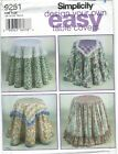 Simplicity 9251 - Design Your Own Table Covers - UNCUT sewing pattern