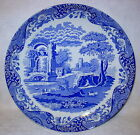 Spode Blue Round Platter Chop Plate - Made in England