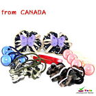 6Pairs Girl's Hair Accessories Pony Tail Holder & Hair  Bow Pins High Quality 5