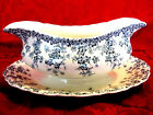 Crown Ducal ENGLAND Gravy Boat- Early English JOY blue ivy #Ro N796148