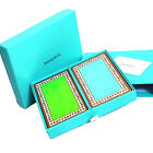 Authentic MINT TIFFANY & CO. Playing Cards 2 lot in Box