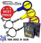 HOOK EZE 2 pack Fishing Line Safety Tying Device+ Line Cutter Hookeze 1 to 8pks