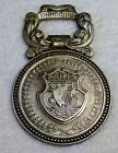 Vintage Souvenir Bottle Opener City Shield of Paris France and Eiffel Tower