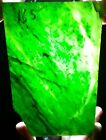 253 grams, Beautiful Green NEPHRITE Jade Slab Rough, for cabochons.Translucent!!