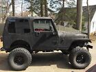 Jeep : Wrangler hard top Lifted Jeep YJ 35