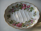 ESTATE JAMES KENT OLD FOLEY HARMONY ROSE SOAP DISH MADE IN ENGLAND