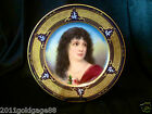 ANTIQUE ROYAL VEINNA HAND PAINTED PORCELAIN PLATE