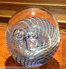 EICKHOLT GLASS PAPERWEIGHT - LARGER 3.75