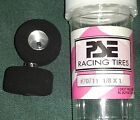 PARMA PSE Drag Slot Car Racing Tires  #70712 (1/8 X 1 )