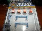 GREENLIGHT 1/64 NYPD NEW YORK CITY POLICE EXCLUSIVE ROAD WORK ACCESSORY PACK
