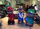 Life Size Alvin and the Chipmunks Simon Theodore Full Size Movie Statues
