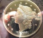 AMERICAN MINT CO'S COMMEMORATIVE COIN OF