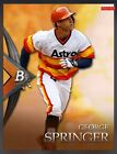 2015 Topps Bunt George Springer Bowman Platinum Award Insert **Virtual Card**