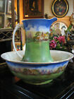 New Hall Pottery England Pitcher and Wash Basin Set