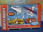 MATCHBOX MISSION FORCE SPACE CREW 4 PACK ENDEAVOUR SHUTTLE AERO BLAST NEW