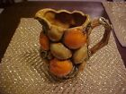 VINTAGE Decorative Collectible INARCO Orange Spice Pitcher MADE IN JAPAN