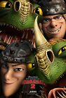 How to Train Your Dragon 2 Ruffnut & Tuffnut Ver 2014 Movie Poster 11x17 Print