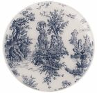 Andreas Silicone Trivet, Toile, Blue, 10 Inch