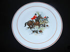 Fox Hunt Scene Collector Plate Handcrafted in Italy Ethan Allen 10