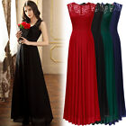 Womens Long Chiffon Formal Evening Party Ball Gown Weddings Bridesmaid Dresses