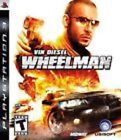 Vin Diesel Wheelman NEW Sony Playstation 3 PS PS3 FREE SHIPPING