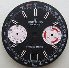 BREITLING WATCH PART CHRONO-MATIC BLACK GENUINE VINTAGE DATE DIAL dia 30 mm NOS