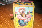 Mattel Music maker toy 1951 Wind up Monkey Grinder